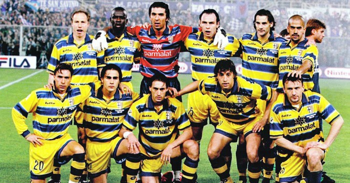#7: The Beloved UEFA Cup Winning Parma Side Of 1999